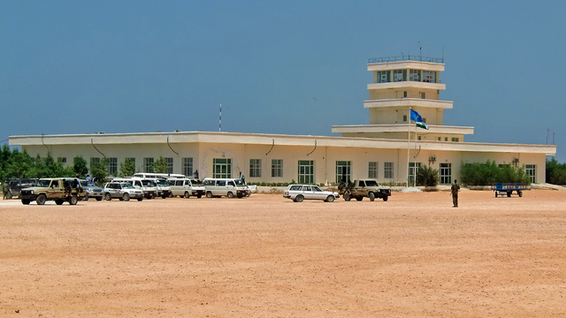A view from Bosaso Airport
