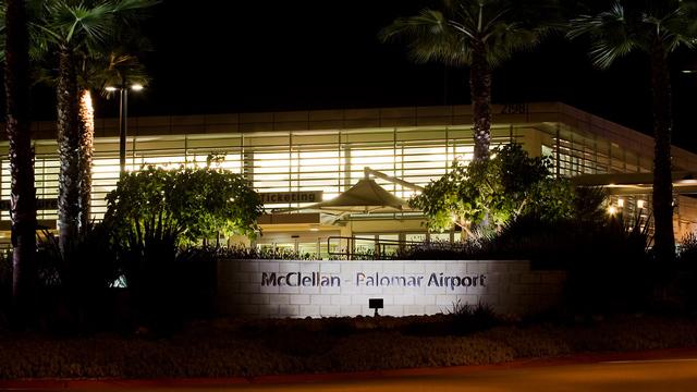 A view from San Diego McClellan Palomar Airport