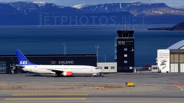 A view from Longyearbyen Svalbard Airport