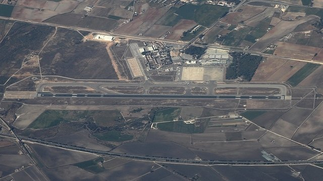 A view from Jerez Airport