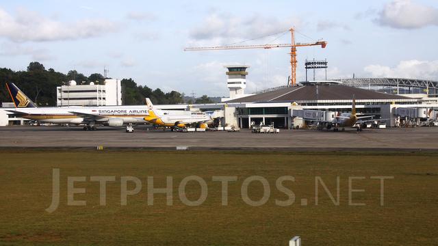 A view from Brunei International Airport