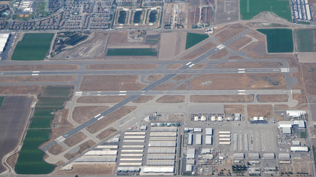 A view from Chino Airport