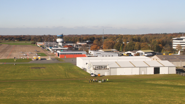 A view from Groningen Airport Eelde