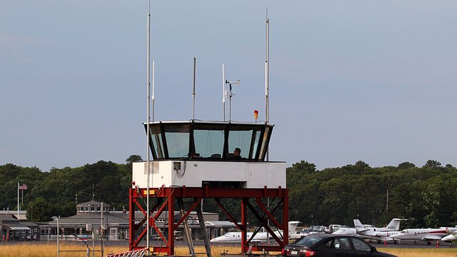 A view from East Hampton Airport