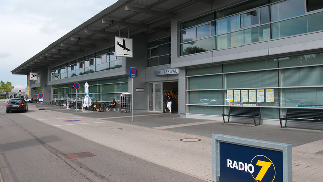 A view from Friedrichshafen Airport