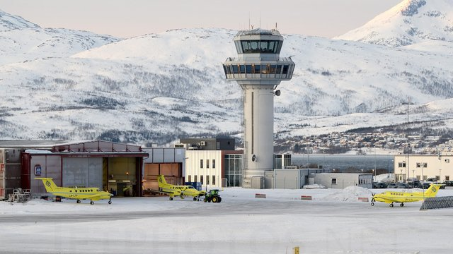 A view from Tromso Airport