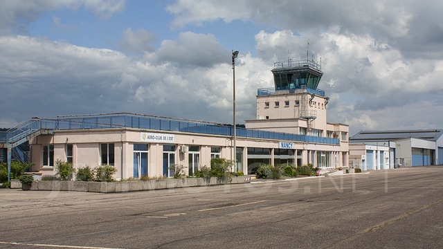 A view from Nancy Essey Airport