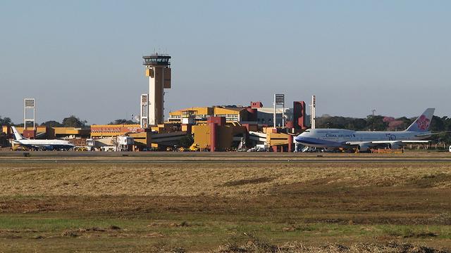 A view from Asuncion Silvio Pettirossi International Airport