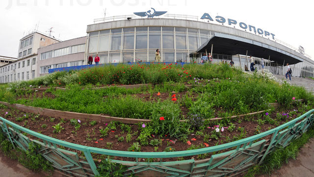 A view from Bratsk Airport
