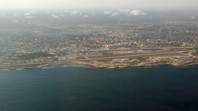 A view from Mogadishu Aden Adde International Airport