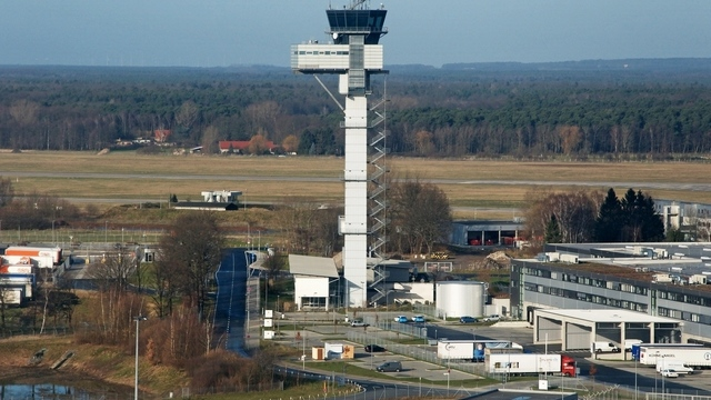 A view from Hannover Langenhagen Airport