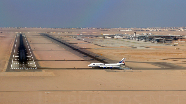 A view from Hurghada International Airport