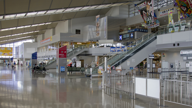 A view from Niigata Airport