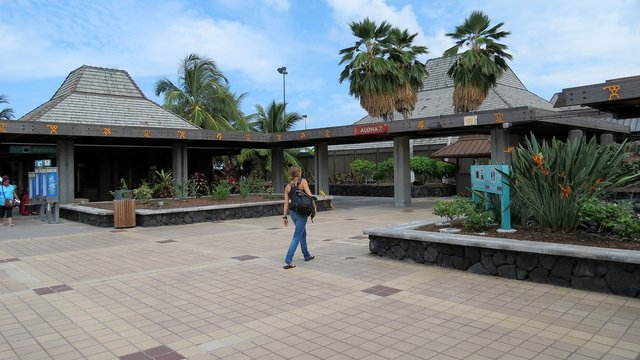 A view from Kona International Airport