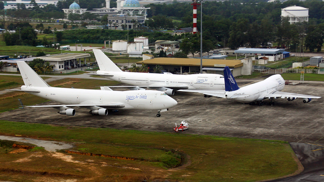 A view from Johor Bahru Senai International Airport
