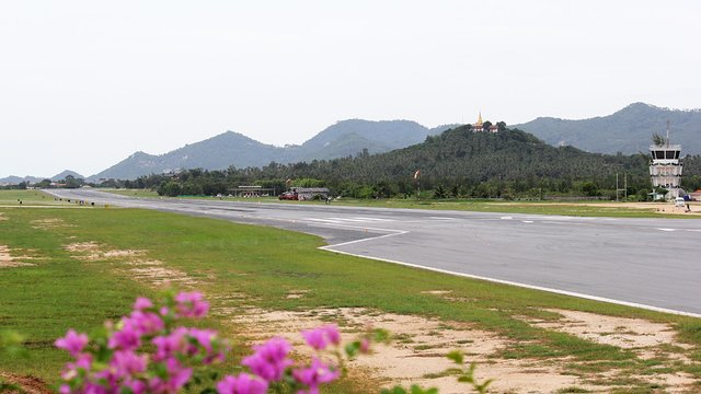 A view from Koh Samui Airport