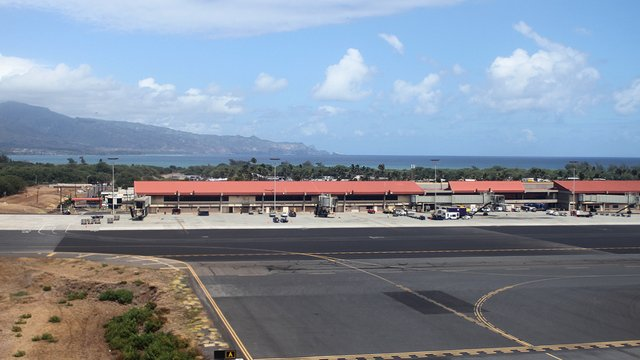 A view from Kahului Airport