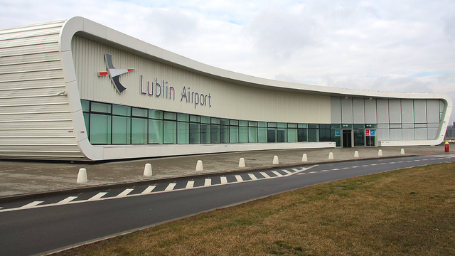 A view from Lublin Airport