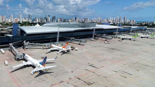 A view from Recife Airport