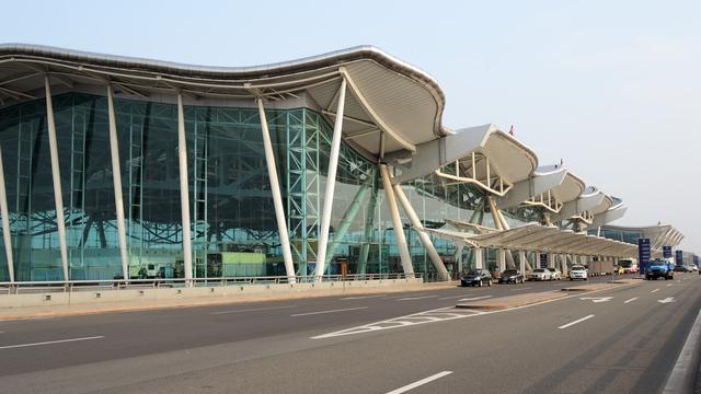 A view from Chongqing Jiangbei International Airport