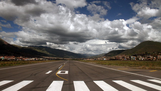 A view from Cusco Alejandro Velasco Astete International Airport