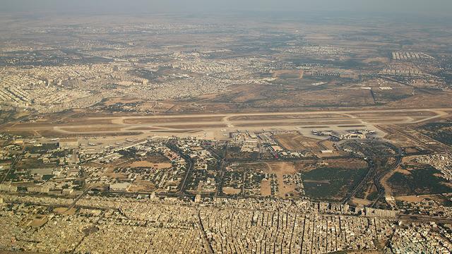 A view from Karachi Jinnah International Airport