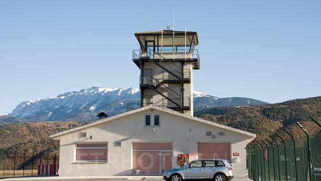 A view from Seo de Urgel Airport