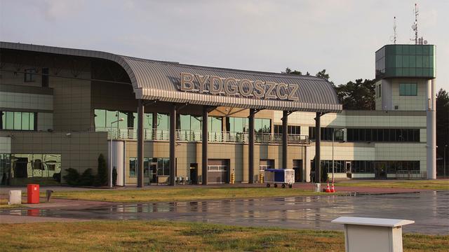 A view from Bydgoszcz Ignacy Jan Paderewski Airport