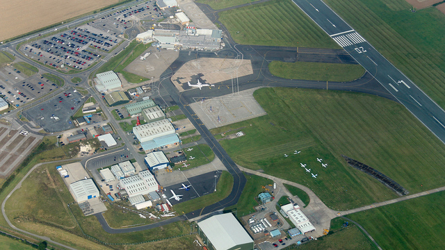 A view from Humberside Airport