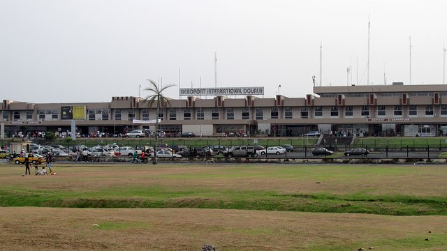 A view from Douala International Airport