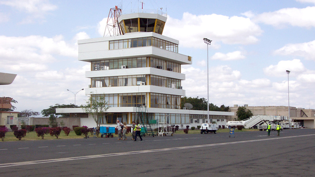 A view from Kilimanjaro International Airport