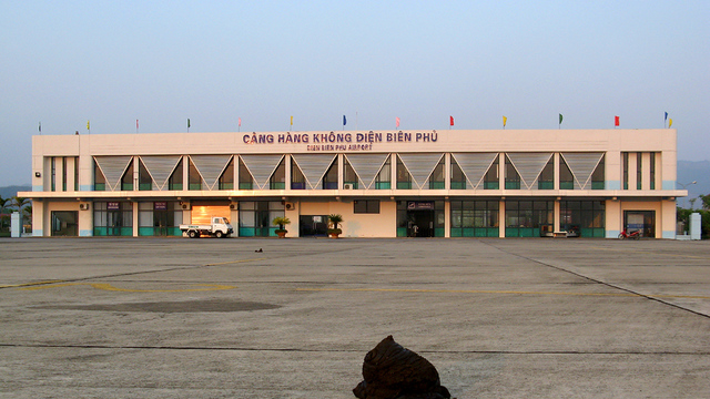 A view from Dien Bien Phu Airport