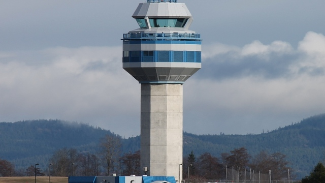 A view from Comox Valley Airport
