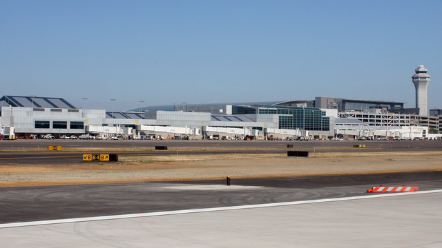 A view from Portland International Airport