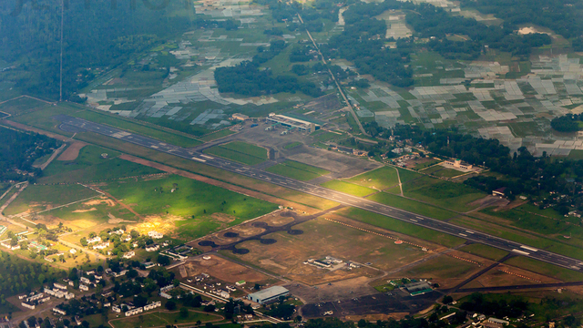 A view from Dibrugarh Airport
