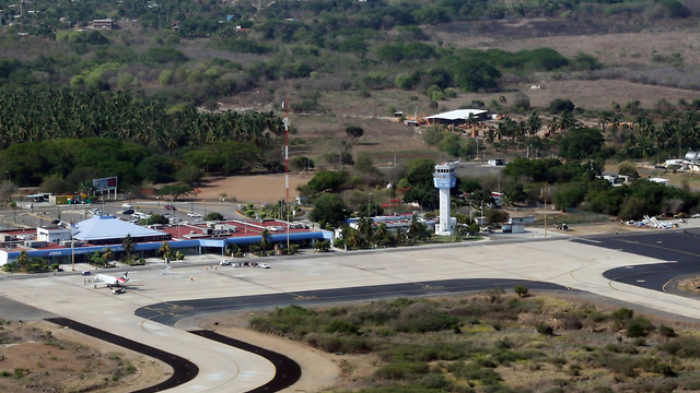 A view from Zihuatanejo Ixtapa International Airport