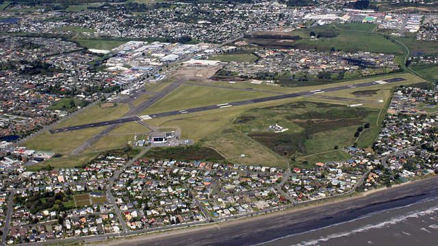 A view from Paraparaumu Kapiti Coast Airport