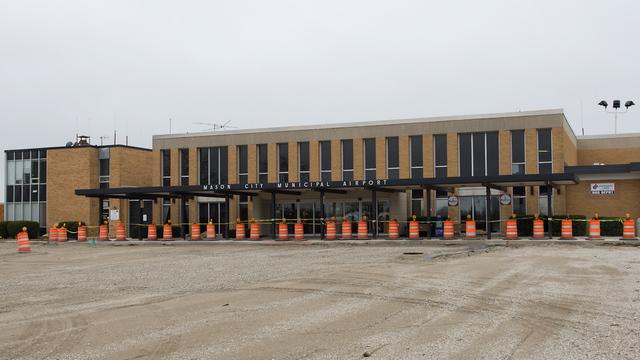 A view from Mason City Municipal Airport