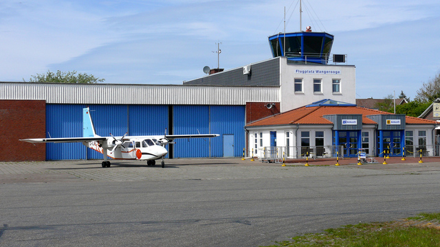 A view from Wangerooge Airport