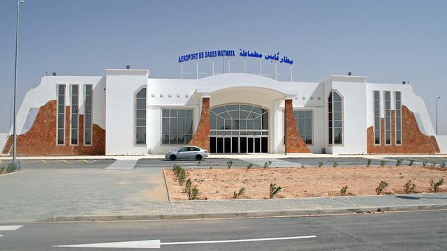 A view from Gabes Matmata International Airport