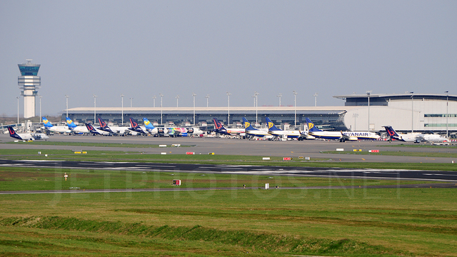 A view from Brussels Airport