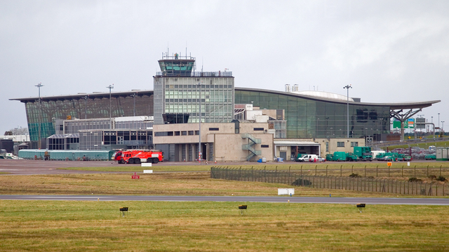 A view from Cork Airport