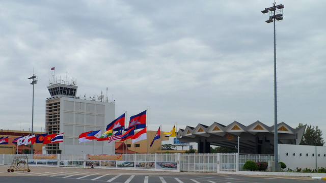 A view from Phnom Penh International Airport