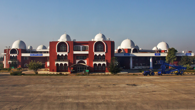 A view from Vadodara Airport