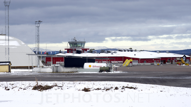 A view from Kiruna Airport