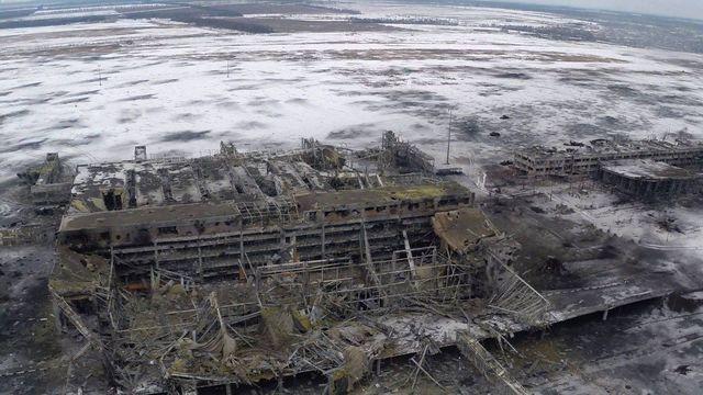 A view from Donetsk Sergey Prokofiev International Airport