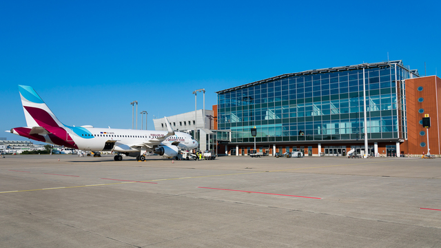 A view from Dresden Airport
