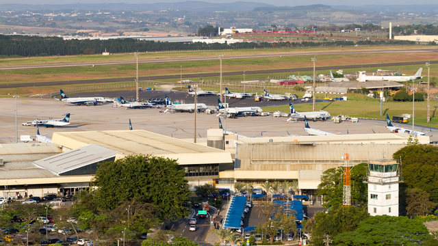 A view from Campinas Viracopos International Airport