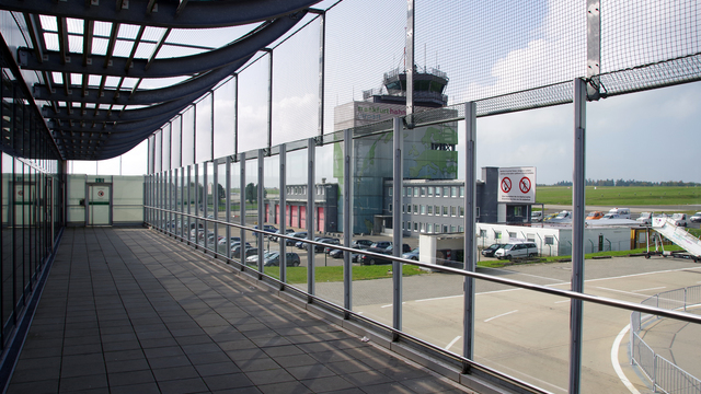 A view from Frankfurt Hahn Airport