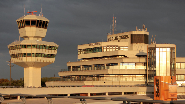 A view from Berlin Tegel Airport